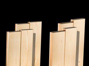 Lambriuri lemn - rășinoase